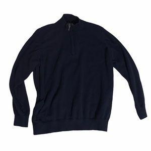 L.L. Bean Blue Pullover 5% Cashmere